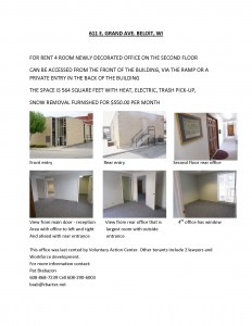 Office 2B for rent